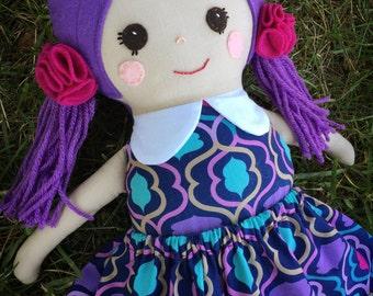 Custom handmade doll