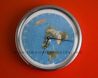24 Hour Flat Earth Clock