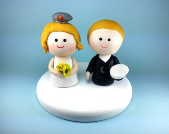 Wedding cake topper, custom wedding cake topper