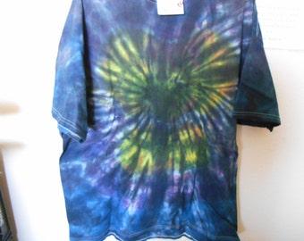 100% cotton Tie Dye T shirt MMXL18 size XL