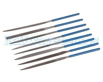 Silverline 10 Piece 140mm Needle file set