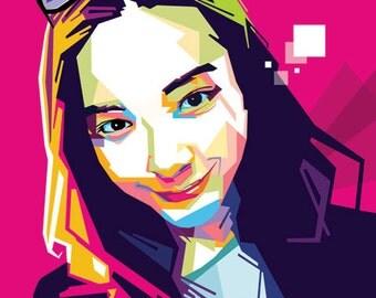 Personalized Portrait - Pop Art for 1 person
