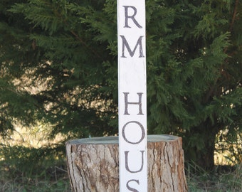 Farm House sign, reclaimed wood