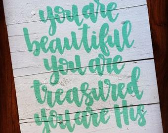 Beautiful, Treasured, His