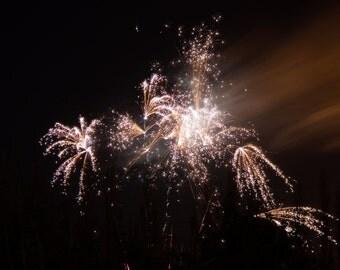 Firework Photography Print