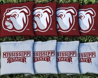 Mississippi State MSU Bulldogs Cornhole Bag Set