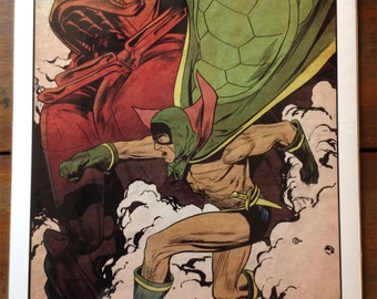 Green Turtle, First Asian-American Superhero Poster