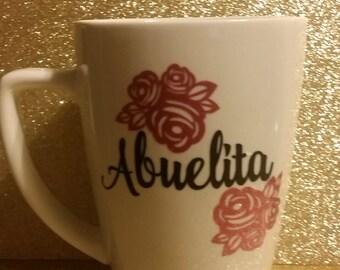 Abuelita coffee cup