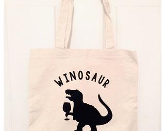 Winosaur Canvas Bag