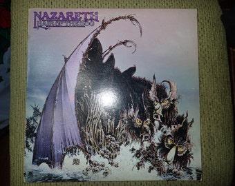 Nazareth Hair of the dog Vintage Vinyl Record