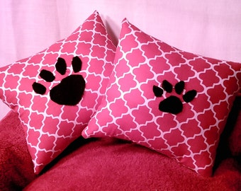 Simply Red Dog or Cat Pillows
