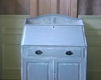 1940s painted Bureau