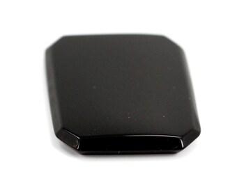 25x18 mm Octagon Black Onyx Gemstone