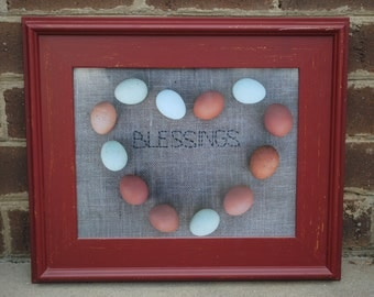 """Chicken Egg """"Blessings"""" Picture"""