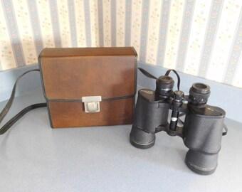 Bushnell Binoculars in Original Case: 7 X 50 Sportview Insta-Focus