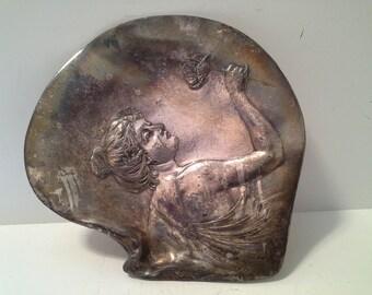 Art Nouveau silverplate? tray