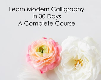 30 Day Course - Modern Calligraphy