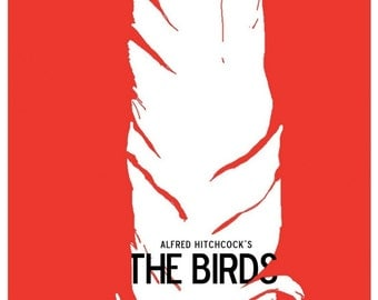 Vintage The Birds Movie Poster Print