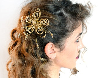 BRIDAL GOLD HEADPIECE