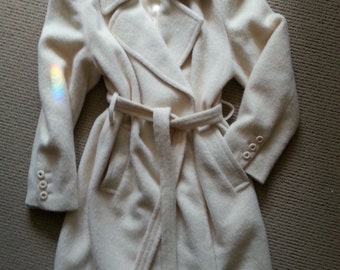 COUTURE Llama coat by OLEG CASSINI