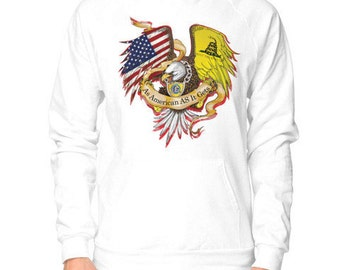 As American As It Gets Patriotic Hoodie