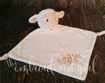 Lamb Wee Snuggle Blanket