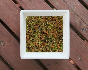 Perky - Organic Herbal Tea, Loose Leaf Tea, Mint Tea, Cinnamon, Spearmint, Peppermint, Marshmallow Tea, Best Selling Tea, Organic Tea, Vegan