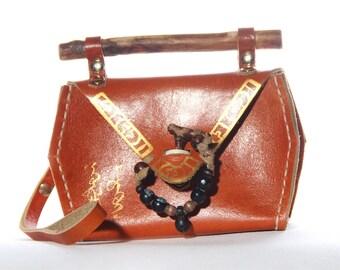 Nomadic mini bag, Purse, Traditional , Ethnic style, Mongolian bag