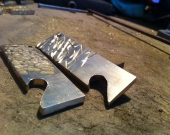 Cut and Beaten bottle openers