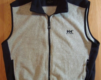 H/H 90s Vintage Helly Hansen Fleece Vest 90s