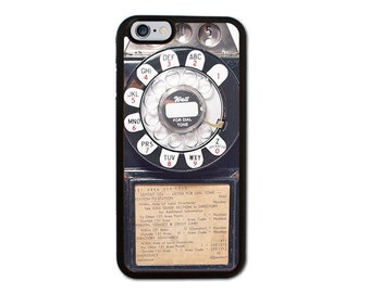 Retro Payphone Iphone 6/6S/6 Plus, 5/5S, 5C, 4/4S Case