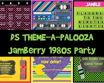 INSTANT DOWNLOAD-1980s Jamberry Party