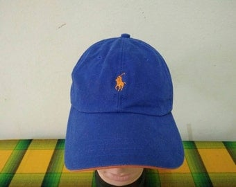 Rare vintage POLO RALPH LAUREN | Polo Country | Polo Stadium cap hat one size fit all