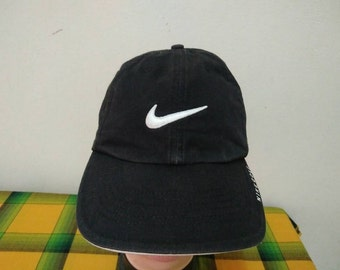 Rare Vintage NIKE Big Logo | Nike Running | Nike Tennis Challenge Court | Nike sport cap hat one size fit all