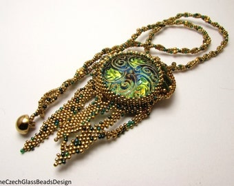Golden Dreams of Eldorado necklace