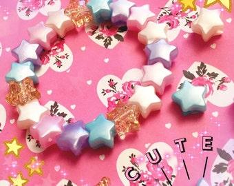 Pastel Stars Bracelet