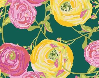 Paradis Citrus - Joie de Vivre - HALF YARD - Art Gallery Fabric - Cotton Fabric - Quilting Fabric