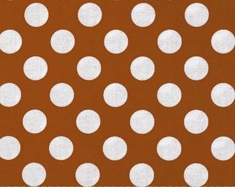 Cinnamon Ta Dot -  end of bolt 1/4 YARD - HALF YARD - Michael Miller - Cotton Fabric - Quilting Fabric