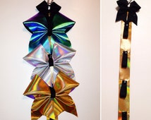 Bow Holder -  Fabric covered - Backpack Bow Holder - Organizer