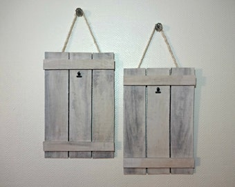 Reclaimed Pallet Wood Frame - 8x10