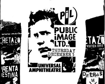 PIL Gig Flyer 4 T-Shirt