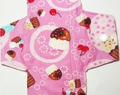 """8"""" Moderate Flow Pads, Washable Pads, Reusable Pads, Menstrual Pads, Period Pads, Mama Cloth"""