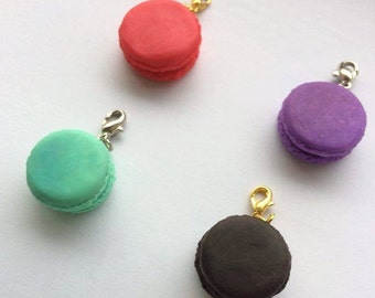 Polymer Clay Macaron Charms (approx. 20mm)