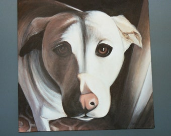 Custom Pet Portraits painted to order