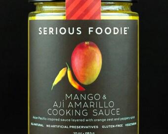 Mango & Aji Amarillo Cooking and Grilling Sauce