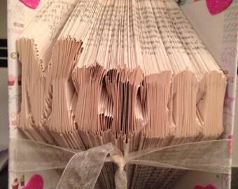 Mum bookfold art ready to post