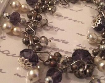 Charming bracelet, handmade and delightfully pretty xx