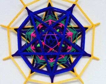 "Mandala Ojo de Dios ""Pentagram"""