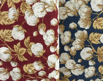 Cotton Plant Fabric