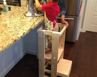 child kitchen helper step stool - Kids Furniture